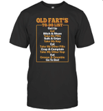 Old Fart's To do List