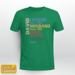 Personalized Legend T-shirt