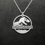 Daddysaurus Handmade 925 Sterling Silver Pendant Necklace