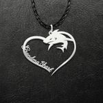 Shark Grandma Shark Handmade 925 Sterling Silver Pendant Necklace
