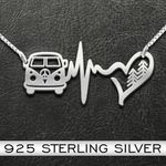 Hippie Infinity Handmade 925 Sterling Silver Pendant Necklace