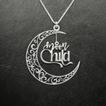 Moon Child Handmade 925 Sterling Silver Pendant Necklace