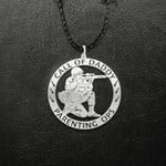 Call of daddy Handmade 925 Sterling Silver Pendant Necklace