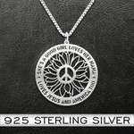 She's Good Girl Loves Mama Handmade 925 Sterling Silver Pendant Necklace