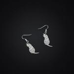 Little Cat Handmade 925 Sterling Silver Earrings