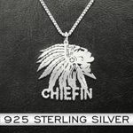 Cannabis Weed 1599 Handmade 925 Sterling Silver Pendant Necklace