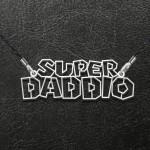 Super Daddio Handmade 925 Sterling Silver Pendant Necklace