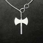 Labrys Handmade 925 Sterling Silver Pendant Necklace
