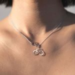 Cycling Infinity Handmade 925 Sterling Silver Pendant Necklace