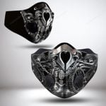 SILVER SKULL FILTER ACTIVATED CARBON PM 2.5 FM
