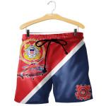 Coast Guard 3D Short Pant Full Printing