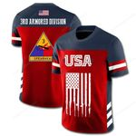 3rd Armored Division Limited Edition 3D Full Printing Unisex Tee