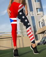Puerto Rico Legging Full Printing