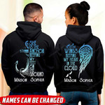 She Is The Anchor Keeping My Feet On The Ground He Is The Wings Keeping My Heart In The Cloud Couple Shirt HTT-16XT023