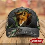 Fox Hunting Personalized Cap nla-30tp032