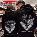 Personalized Till Our Last Breath Demon And Angel Custom Names Hoodie PHT
