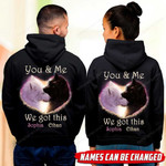 You & Me We Got This Wolf Couple Hoodie HQD-16XT015