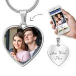 Custom Photo Pendant Necklace HP