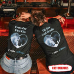 Personalized From Our First Kiss Till Our Last Breath Horse T-shirt