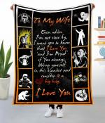 Gift To Wife  -   Welder Fleece Blanket  HQT-21dd014