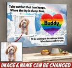 Personalized Canvas Take Comfort That I Am Happy... HTT-15XT027