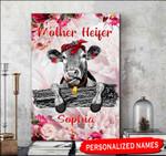 Custom Name Mother Heifer Matte Canvas HQD-15XT010