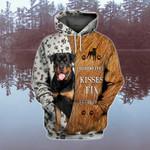 Rottweiler Dog  3D Full Printing Hoodie