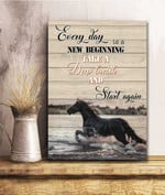Every Day Is A New Beginning Canvas 3D Printing PHT