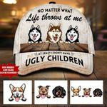 """Personalized """"No Matter"""" Dog MOM Cap 30HL060"""
