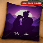 PERSONALIZED NAME Pit Bull Pillow DHL-20VN02