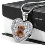 DOGUE DE BORDEAUX Heart Necklace PM-18DT003