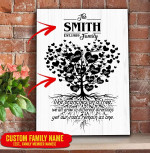 Personalized Family Tree Canvas 3D Printing PHT