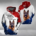 GERMAN SHEPHERD will come into your life 3D Full Printing Hoodie