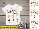 Personalized Love Gigilife Bugs T-shirt