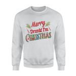 MERRY DRUNK Standard Crew Neck Sweatshirt DHL-TT2D