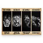 Lion Poster hqt20