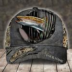 COBIA FISHING CAMO PERSONALIZED CAP