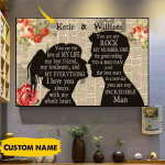 Personalized You Are The Love Of My Life My Best Friend Canvas