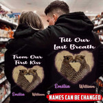 Personalized Till Our Last Breath Leopard Couple Hoodie NVL-16DT002