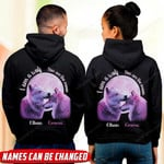 You Are The Moon Wolf Hoodie QTD-16XT001
