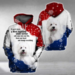 WEST HIGHLAND WHITE TERRIER will come into your life 3D Full Printing Hoodie