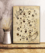 Wild Tracks Animal Canvas