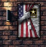 U.S ARMY   Printed Metal Sign KNV-29DD007