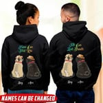 Personalized Till Our Last Breath Pug Hoodie tdh | hqt-16sh050