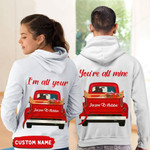 Personalized I'm All Your - You're All Mine Couple Hoodie QTD