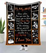 Gift To Wife  -   Carpenter Fleece Blanket  HQT-21dd015