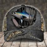 BONITO FISHING CAMO PERSONALIZED CAP