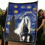 Gypsy horse Fleece Blanket ntk-21nq008