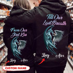 Personalized Till Our Last Breath Dragon Couple Hoodie NVL-16SH002