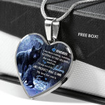 Remember I'll Step Out Of The Shadows And Protect What Is Mine | Love, Dad Necklace PHT